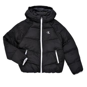 Odjeća Djevojčica Pernate jakne Calvin Klein Jeans BRINIMA Crna