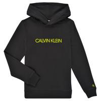 Odjeća Djeca Sportske majice Calvin Klein Jeans ZOPLINA Crna