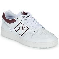 Obuća Muškarci  Niske tenisice New Balance 480 Bijela / Bordo