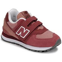 Obuća Djevojčica Niske tenisice New Balance 574 Ružičasta