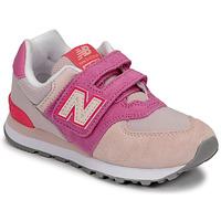 Obuća Djevojčica Niske tenisice New Balance 574 Ružičasta / Ljubičasta