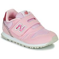 Obuća Djevojčica Niske tenisice New Balance 373 Ružičasta