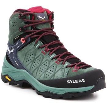 Obuća Žene  Pješaćenje i planinarenje Salewa WS Alp Trainer 2 Mid Gtx
