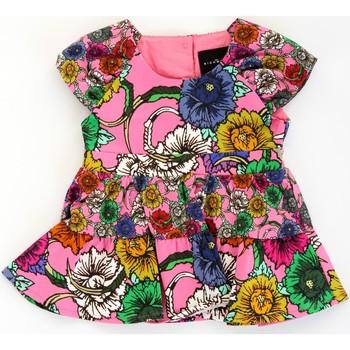 Odjeća Djevojčica Kratke haljine John Richmond RIP21030VE Rosa