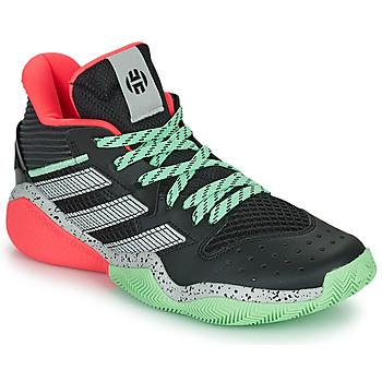 Obuća Košarka adidas Performance HARDEN STEPBACK Crna / Siva / Zelena