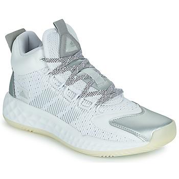 Obuća Košarka adidas Performance PRO BOOST MID Bijela / Srebrna