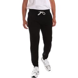 Odjeća Muškarci  Hlače Key Up 2F37E 0001 Crno