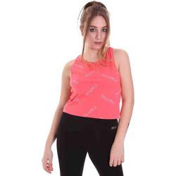 Odjeća Žene  Majice s naramenicama i majice bez rukava Fila 683305 Ružičasta