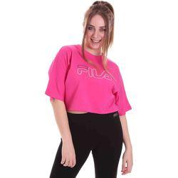 Odjeća Žene  Majice kratkih rukava Fila 683303 Ružičasta
