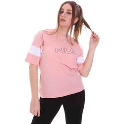 Odjeća Žene  Majice kratkih rukava Fila 683283 Ružičasta
