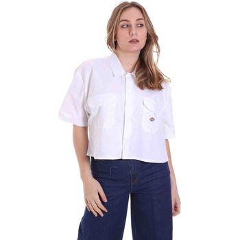 Odjeća Žene  Košulje i bluze Dickies DK0A4XE1WHX1 Bijela
