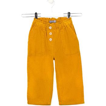 Odjeća Djeca Hlače Losan 026-9002AL Žuta boja