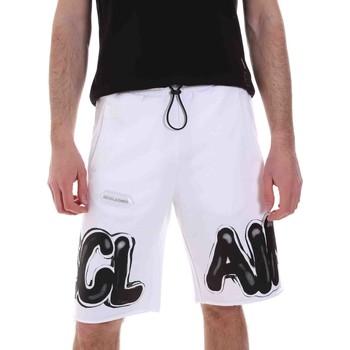 Odjeća Muškarci  Bermude i kratke hlače Disclaimer 21EDS50615 Bijela