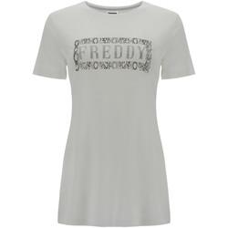 Odjeća Žene  Majice kratkih rukava Freddy S1WALT2 Bijela