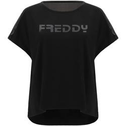 Odjeća Žene  Majice kratkih rukava Freddy S1WTBT3 Crno