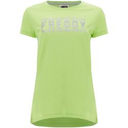 Odjeća Žene  Majice kratkih rukava Freddy S1WCLT2 Zelena