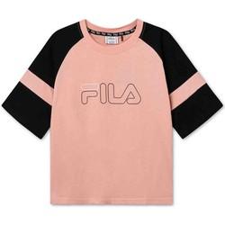 Odjeća Djeca Majice kratkih rukava Fila 683330 Ružičasta