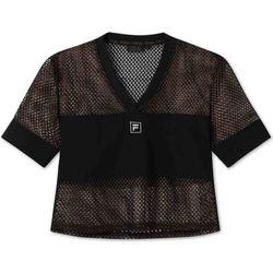 Odjeća Žene  Majice kratkih rukava Fila 682931 Crno