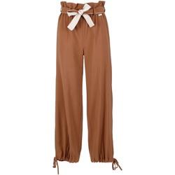 Odjeća Žene  Lagane hlače / Šalvare Café Noir JP6170 Smeđa