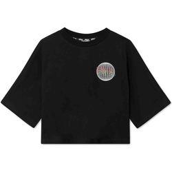 Odjeća Žene  Majice kratkih rukava Fila 688484 Crno