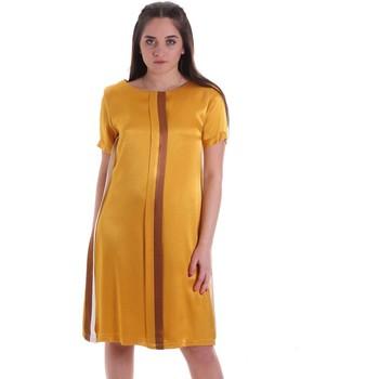 Odjeća Žene  Kratke haljine Café Noir JA6260 Žuta boja