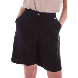 Odjeća Žene  Bermude i kratke hlače Café Noir JP6030 Crno