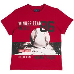 Odjeća Djeca Majice kratkih rukava Chicco 09067134000000 Crvena
