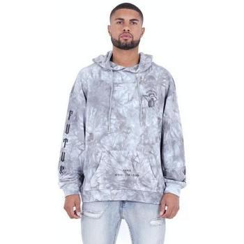 Odjeća Muškarci  Sportske majice Sixth June Sweatshirt  Custom Tie Dye gris anthracite/rose hibiscus