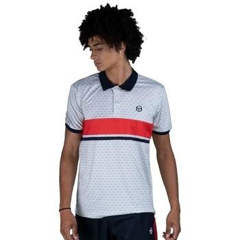 Odjeća Muškarci  Polo majice kratkih rukava Sergio Tacchini Polo  Ansley white/red