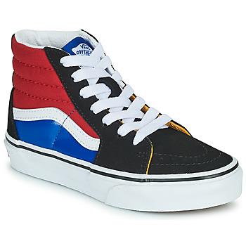 Obuća Dječak  Visoke tenisice Vans SK8-HI Crna / Red / Blue