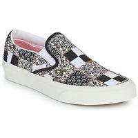 Obuća Slip-on cipele Vans SLIP ON Crna / Bijela / Ružičasta