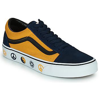 Obuća Niske tenisice Vans OLD SKOOL Blue / Žuta