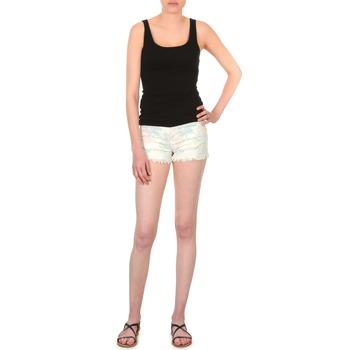 Odjeća Žene  Bermude i kratke hlače School Rag SELENA FLOWERS Bijela
