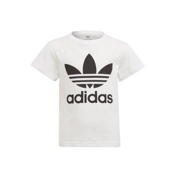 Odjeća Djeca Majice kratkih rukava adidas Originals FLORE Bijela
