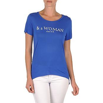 Odjeća Žene  Majice kratkih rukava School Rag TEMMY WOMAN Blue