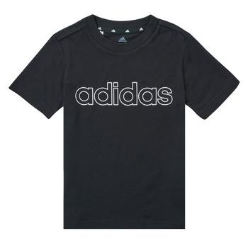 Odjeća Dječak  Majice kratkih rukava adidas Performance SAMINA Crna