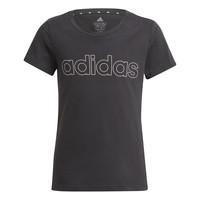 Odjeća Djevojčica Majice kratkih rukava adidas Performance PLAKAT Crna