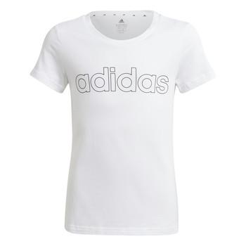 Odjeća Djevojčica Majice kratkih rukava adidas Performance HOLLIA Bijela