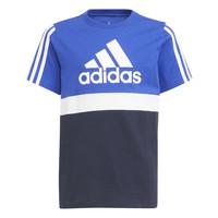 Odjeća Dječak  Majice kratkih rukava adidas Performance ABATIA Crna