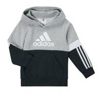 Odjeća Dječak  Sportske majice adidas Performance CRAKA Siva / Crna