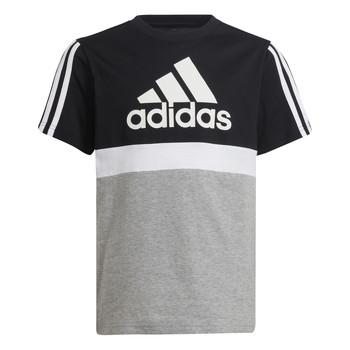Odjeća Dječak  Majice kratkih rukava adidas Performance MOULITA Siva / Crna
