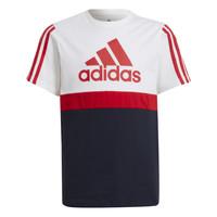 Odjeća Dječak  Majice kratkih rukava adidas Performance GUILIA Bijela