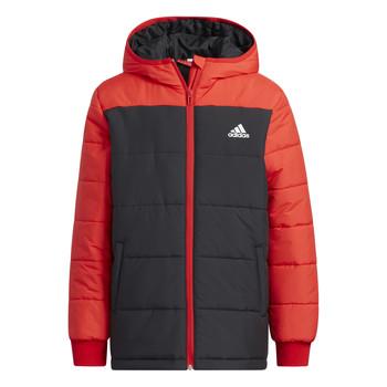 Odjeća Djeca Pernate jakne adidas Performance RACHELA Red / Crna
