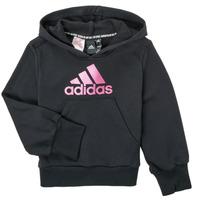 Odjeća Djevojčica Sportske majice adidas Performance KINOM Crna