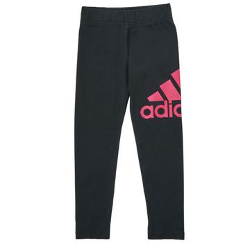 Odjeća Djevojčica Tajice adidas Performance MARIONA Crna