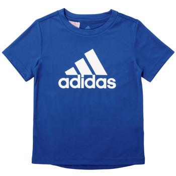 Odjeća Dječak  Majice kratkih rukava adidas Performance CLAUDIA Blue