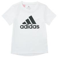Odjeća Dječak  Majice kratkih rukava adidas Performance NADEGE Bijela