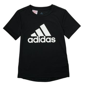 Odjeća Dječak  Majice kratkih rukava adidas Performance NADGED Crna