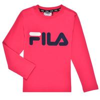 Odjeća Djevojčica Majice dugih rukava Fila ESPIN Ružičasta