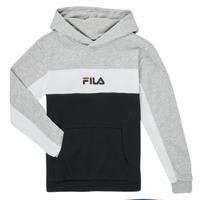 Odjeća Dječak  Sportske majice Fila CAMILLA Crna / Siva